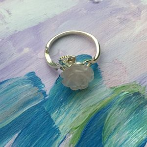 Jewelry - Silver Ring With Rose